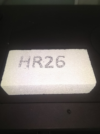 Refractory insulation tile HR26