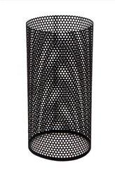 Perforerade ytterrör 500mm  svart, 200