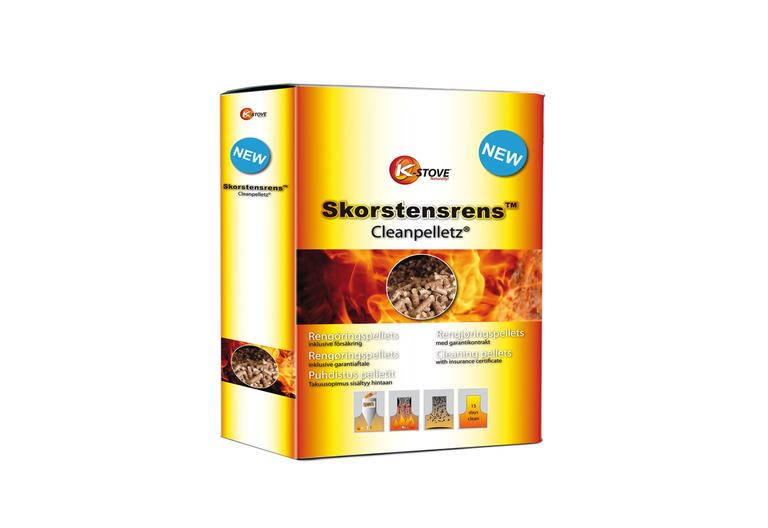 Savupiipunpuhdistin Cleanpelletz 1,8 kg