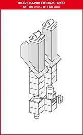 Tiileri Blockskorsten T600