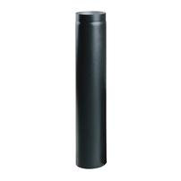 Cortenrör 130 1000 mm