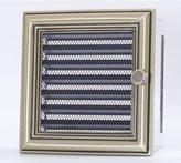 Galler 17x17 till rektangulär kanalrör  retro med spjäll
