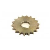Skivkedjehjul, axelhål 18 mm Z = 18