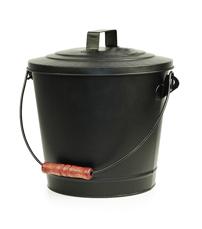 Askhink med lock 7 liter