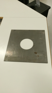 Mounting plate large