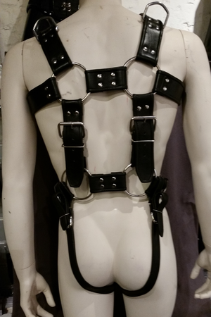 Leather Bondage Body Harness