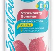 Pjur Spa Scentouch 200 ml Strawberry  (4Pack)
