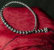 Snake whip Svart/Vit