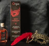 ORGIE Lips Massage Set - Jordgubb