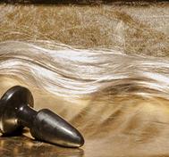 Hästsvans Blond, Gummiplugg
