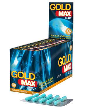GoldMAX BLÅ (10 Kapslar X 10Pack)