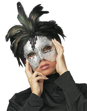 Silver ögonmask