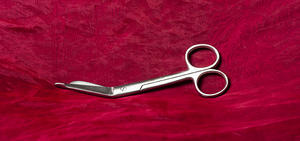 Safety Scissors 140 mm, Stainless Steel