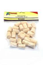 Spetskork Vinosol/Drinkit för halvflaska 25 st