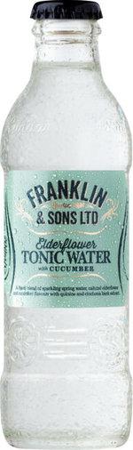 Franklin & Sons Elderflower Cucumber 200 ml