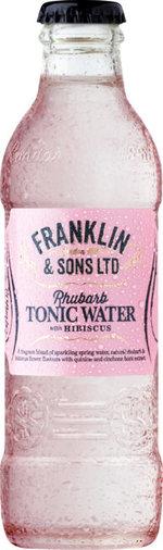 Franklin & Sons Rhubarb Hibiscus Tonic 200 ml