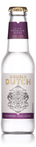 Double Dutch Cranberry & Ginger Tonic Water 200 ml