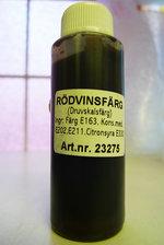 Vinfärg Druvskalsfärg (flaska)