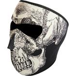 Zan Headgear helmask Skull Face Glow