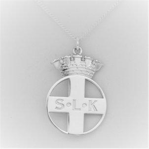 Halsband med emblem