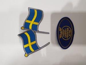 Svenska flaggan (1 par)
