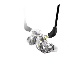2-Driver In Ear Monitor Transparent
