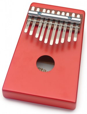 KID KALIMBA 10 KEYS RED
