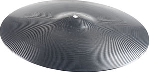 "14"" Black Plastic Cymbal"