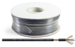 100Mtr 2Cond Mic Cable On Drum
