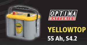 Optima YellowTop55     19,5 kg