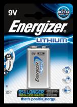 Energizer Litium 9V/1604