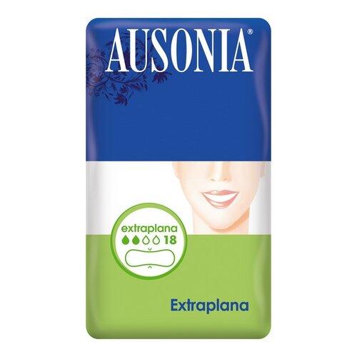 Extra platta dambindor Ausonia (18 uds)