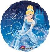 "18"" Heliumfylld Cinderella a night to sparkle 45cm"