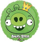 "18"" Heliumfylld Angry Birds King Pig 45cm"