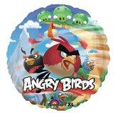 "18"" Heliumfylld Angry Birds 45 cm"