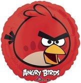 "18"" Heliumfylld Angry Bird Red 45 cm"