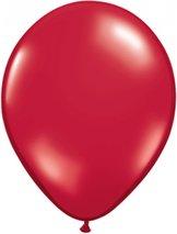 "28cm röd-rubinröd ballong - 11"""