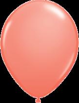 "28cm röd-korallröd ballong - 11"""