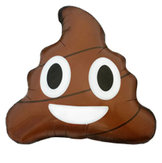 """18"""" Emoji Poop 46 cm"""