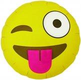 "18"" Emoji Winking 46 cm"