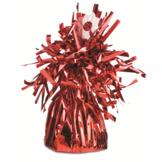 Ballongtyngd Folie - Röd