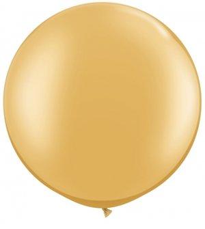 """75cm guld ballong - 30"""""""