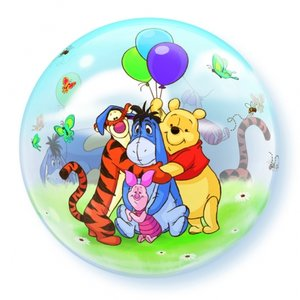 """22"""" Winnie the pooh & friends bubble balloons"""