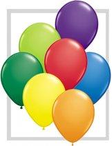 """11"""" (28cm) ballong - heliumfylld till 10"""" - Valfria färger"""
