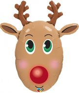 "36"" Red-Nosed Reindeer 90 cm"