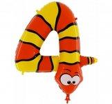 Folieballong Siffra - 4 - Animaloons