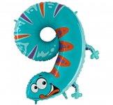Folieballong Siffra - 9 - Animaloons