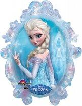 """31"""" Heliumfylld Frost Anna & Elsa Supershape - 78 cm"""