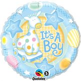 "18"" It´s A Boy Soft Giraffe"