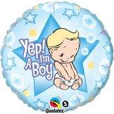 """18"""" Yep! I´m A Boy"""
